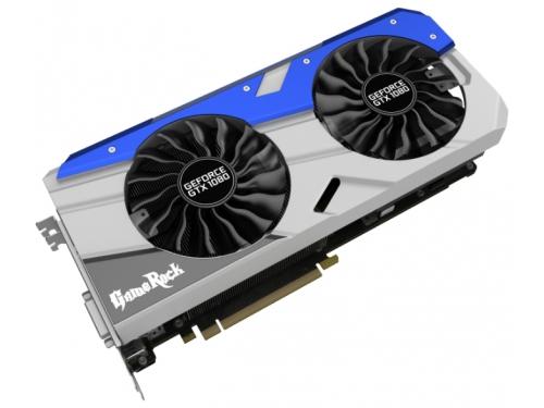 Видеокарта GeForce PALIT PCI-E NV GTX1080 GameRock 8192Mb 256b DDR5X, вид 2