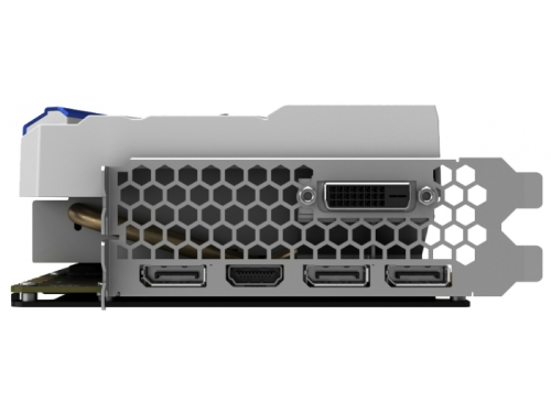 Видеокарта GeForce PALIT PCI-E NV GTX1080 GameRock 8192Mb 256b DDR5X, вид 5