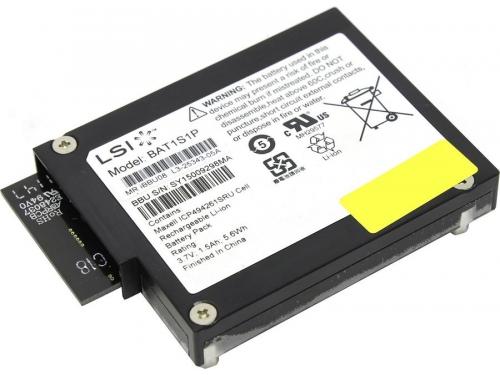 Батарея аварийного питания для RAID-контроллера LSI Logic MegaRAID iBBU08 (LSI00264), вид 1