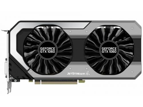 Видеокарта GeForce Palit GeForce GTX 1060 1506Mhz PCI-E 3.0 6144Mb 8000Mhz 192 bit 2xDVI HDMI (NE51060015J9-1060J), вид 1