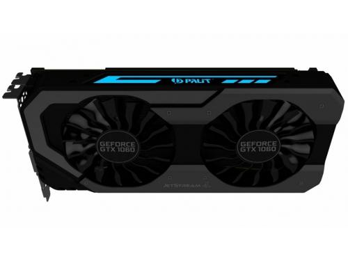 Видеокарта GeForce Palit GeForce GTX 1060 1506Mhz PCI-E 3.0 6144Mb 8000Mhz 192 bit 2xDVI HDMI (NE51060015J9-1060J), вид 6