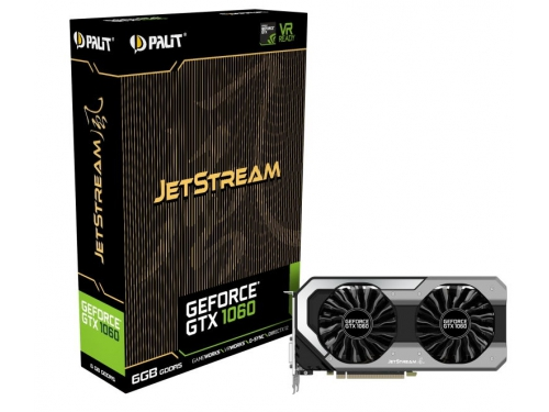 ���������� GeForce Palit GeForce GTX 1060 1506Mhz PCI-E 3.0 6144Mb 8000Mhz 192 bit 2xDVI HDMI (NE51060015J9-1060J), ��� 7