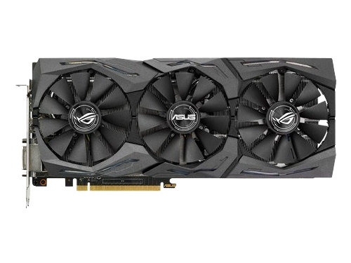 Видеокарта GeForce ASUS GeForce GTX 1070 1531Mhz PCI-E 3.0 8192Mb 8008Mhz 256 bit DVI 2xHDMI HDCP, вид 1