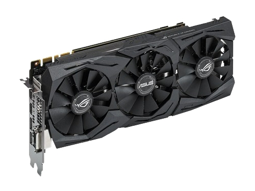 Видеокарта GeForce ASUS GeForce GTX 1070 1531Mhz PCI-E 3.0 8192Mb 8008Mhz 256 bit DVI 2xHDMI HDCP, вид 2