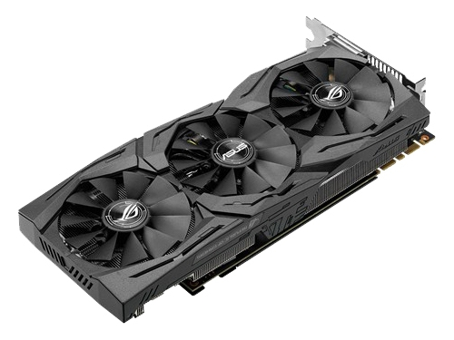 Видеокарта GeForce ASUS GeForce GTX 1070 1531Mhz PCI-E 3.0 8192Mb 8008Mhz 256 bit DVI 2xHDMI HDCP, вид 3