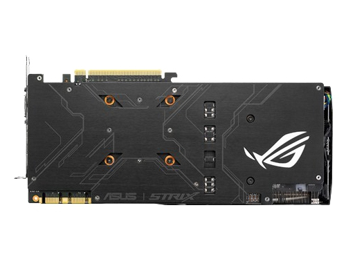Видеокарта GeForce ASUS GeForce GTX 1070 1531Mhz PCI-E 3.0 8192Mb 8008Mhz 256 bit DVI 2xHDMI HDCP, вид 4