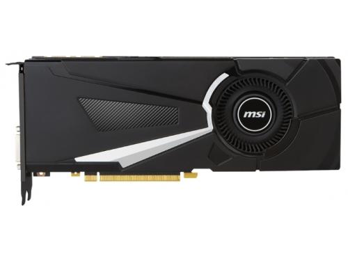 Видеокарта GeForce MSI GeForce GTX 1080 1632Mhz PCI-E 3.0 8192Mb 10010Mhz 256 bit DVI HDMI HDCP, вид 1