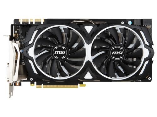 Видеокарта GeForce MSI GeForce GTX 1080 1657Mhz PCI-E 3.0 8192Mb 10010Mhz 256 bit DVI HDMI HDCP, вид 1