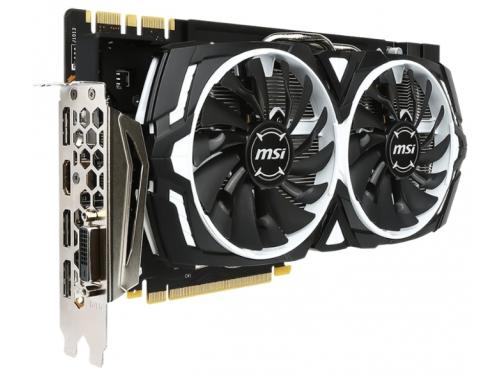 Видеокарта GeForce MSI GeForce GTX 1080 1657Mhz PCI-E 3.0 8192Mb 10010Mhz 256 bit DVI HDMI HDCP, вид 2