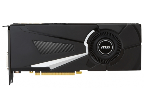 ���������� GeForce MSI GeForce GTX 1070 1531Mhz PCI-E 3.0 8192Mb 8008Mhz 256 bit DVI HDMI HDCP (GTX 1070 AERO 8G OC), ��� 1
