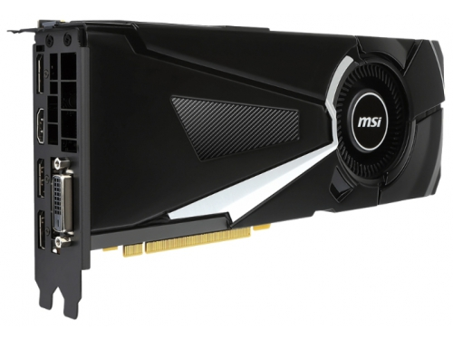 ���������� GeForce MSI GeForce GTX 1070 1531Mhz PCI-E 3.0 8192Mb 8008Mhz 256 bit DVI HDMI HDCP (GTX 1070 AERO 8G OC), ��� 2