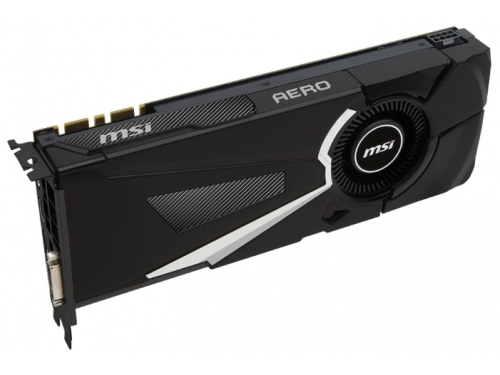 ���������� GeForce MSI GeForce GTX 1070 1531Mhz PCI-E 3.0 8192Mb 8008Mhz 256 bit DVI HDMI HDCP (GTX 1070 AERO 8G OC), ��� 3