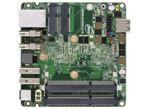 Материнская плата Intel NUC BLKD33217GKE-924221 (UCFF, Core i3-3217U, Intel QS77, 2x DDR3), OEM, вид 1