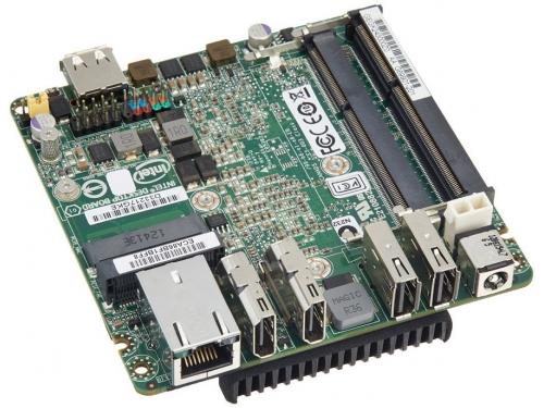 Материнская плата Intel NUC BLKD33217GKE-924221 (UCFF, Core i3-3217U, Intel QS77, 2x DDR3), OEM, вид 3