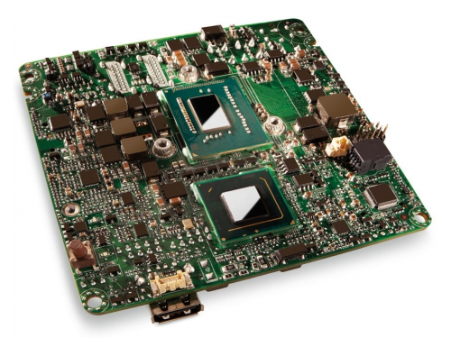 Материнская плата Intel NUC BLKD33217GKE-924221 (UCFF, Core i3-3217U, Intel QS77, 2x DDR3), OEM, вид 4