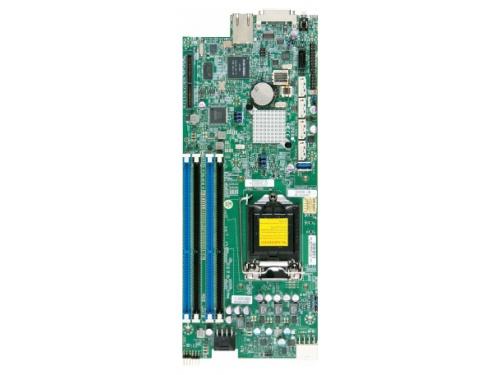 Материнская плата Supermicro MBD-X10SLE-F-P (LGA1150/Intel C224/4x DDR3 1600 МГц/SATA: 6 Гбит/с), вид 1