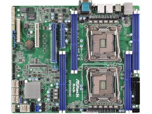 ����������� ����� ASRock EP2C612D8C (Intel C612/2xLGA2011-3/8xDDR4/2x1000/ATX), ��� 1