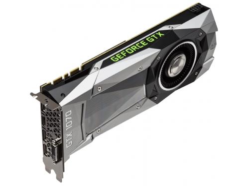 Видеокарта GeForce GIGABYTE PCI-E NV GTX1070 8192Mb 256b, вид 1