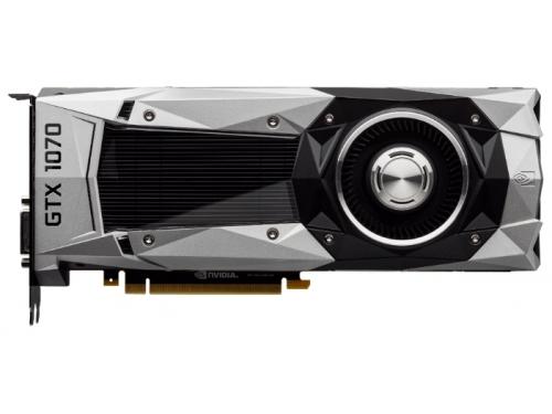 Видеокарта GeForce GIGABYTE PCI-E NV GTX1070 8192Mb 256b, вид 2