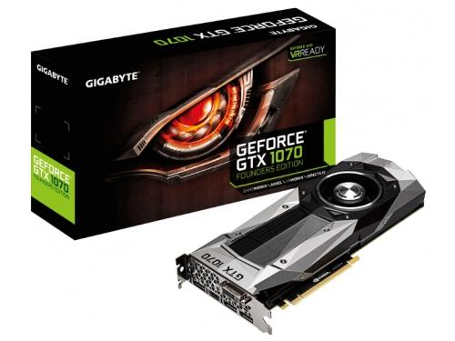 Видеокарта GeForce GIGABYTE PCI-E NV GTX1070 8192Mb 256b, вид 5