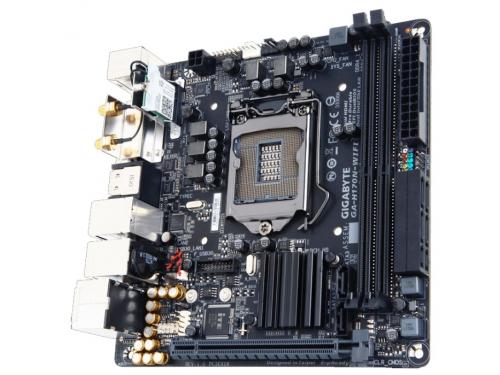 ����������� ����� Gygabyte GA-H170N-WIFI (rev. 1.0) (DDR4, MITX, Sata3, LAN-Gbt, USB3.1 DVi/DP/HDMI), ��� 1