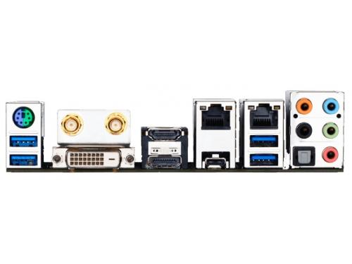 ����������� ����� Gygabyte GA-H170N-WIFI (rev. 1.0) (DDR4, MITX, Sata3, LAN-Gbt, USB3.1 DVi/DP/HDMI), ��� 3