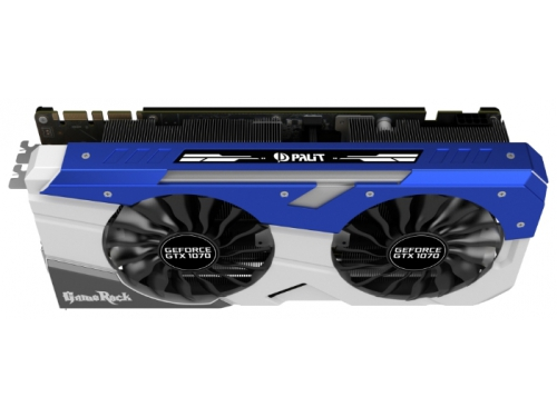 Видеокарта GeForce Palit PCI-E NV GTX1070 GameRock 8192Mb 256b DDR5 D-DVI+HDMI, вид 2