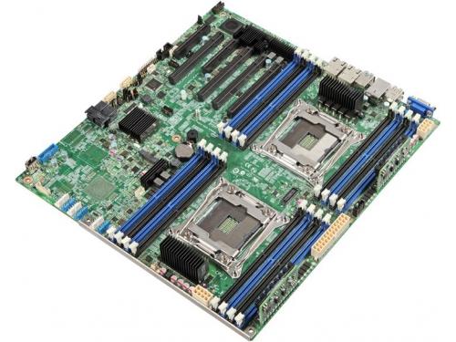Материнская плата Intel S2600CW2R (DBS2600CW2R943803) серверная, вид 1