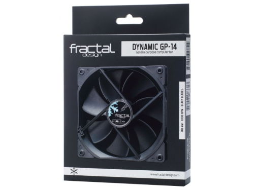 Кулер Fractal Design Dynamic GP-14 (140 mm), черный, вид 1