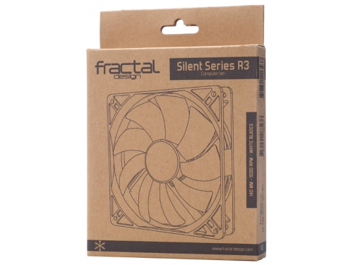 Кулер Fractal Design Silent Series R3 140mm (FD-FAN-SSR3-140-WT), вид 2