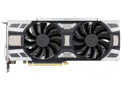 ���������� GeForce EVGA GeForce GTX 1070 1594Mhz PCI-E 3.0 8192Mb 8008Mhz 256 bit DVI HDMI HDCP, SC GAMING ACX 3.0, ��� 1