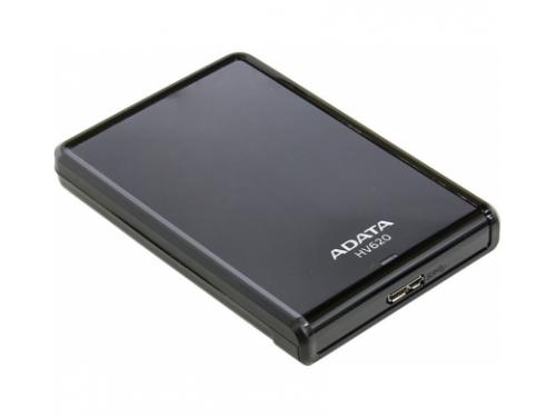 Жесткий диск A - Data AHV620 - 500GU3 - CBK, черный, вид 1