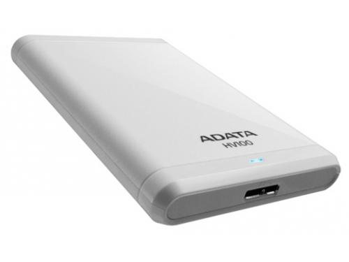 Жесткий диск A - Data  AHV100 - 1TU3 - CWH, белый, вид 1