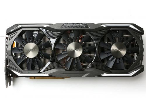 Видеокарта GeForce ZOTAC GeForce GTX 1070 1632Mhz PCI-E 3.0 8192Mb 8208Mhz 256 bit DVI HDMI HDCP (ZT-P10700B-10P), AMP Extreme, вид 1