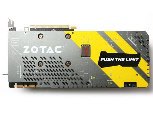 Видеокарта GeForce ZOTAC GeForce GTX 1070 1632Mhz PCI-E 3.0 8192Mb 8208Mhz 256 bit DVI HDMI HDCP (ZT-P10700B-10P), AMP Extreme, вид 2
