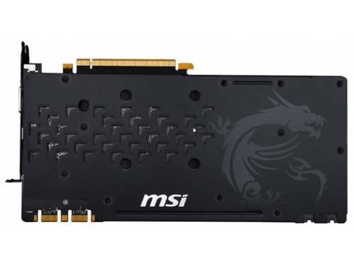 Видеокарта GeForce MSI GeForce GTX 1070 1607Mhz PCI-E 3.0 8192Mb 8108Mhz 256 bit DVI HDMI HDCP GAMING X, вид 3