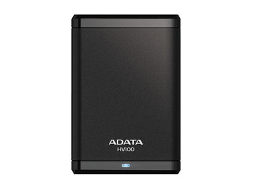 Жесткий диск A - Data  AHV100 - 1TU3 - CBK, черный, вид 2