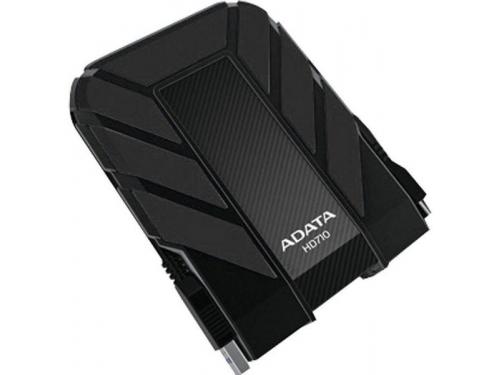 Жесткий диск A - Data AHD710 - 500GU3 - CBK, черный, вид 1