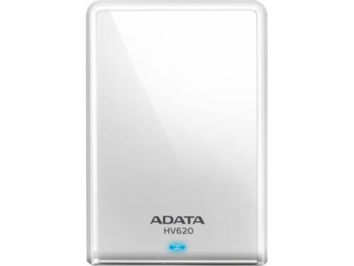 Жесткий диск Adata AHV620 - 1TU3 - CWH 1Tb, белый, вид 1