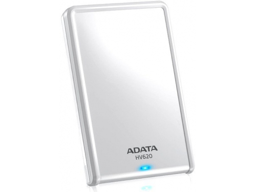 Жесткий диск Adata AHV620 - 1TU3 - CWH 1Tb, белый, вид 2