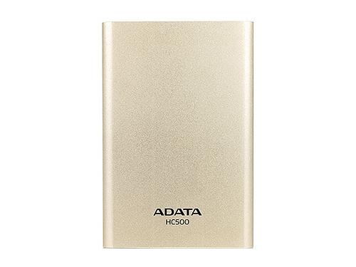 Жесткий диск ADATA Choice HC500 2TB, золотистый, вид 1
