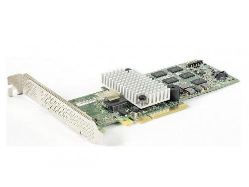 Контроллер LSI Logic MegaRAID SAS 9250-4i SGL (PCI-E 2.0 — 4x SAS/SATA, RAID 0-10), LSI00459, вид 1
