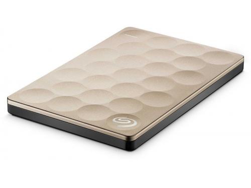 Жесткий диск Seagate Backup Plus Ultra Slim Gold 1 Тб (USB3.0, 5400rpm, 16Mb, 2.5