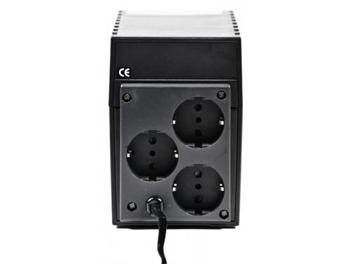 Источник бесперебойного питания Powercom RPT-1000A EURO 600W, вид 3