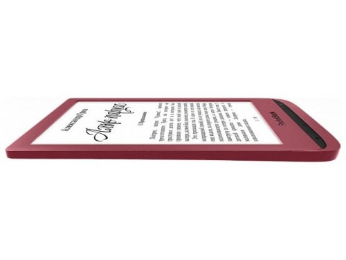 Электронная книга PocketBook 628 красная, вид 3