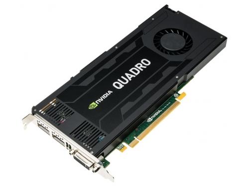Видеокарта профессиональная PNY PCI-Ex Quadro K4200 (VCQK4200-PB) 4096MB, DDR5 DVI 2*DP, вид 1