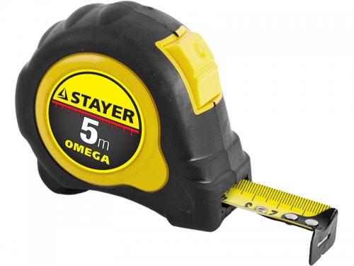 Рулетка STAYER Omega MASTER 3402-5_Z01 (5 м), вид 1