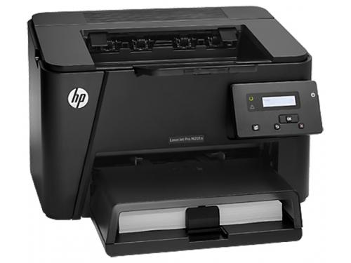 Лазерный ч/б принтер HP LaserJet Pro M201n, вид 3