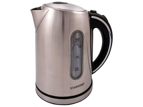 Чайник электрический StarWind SKS4210, серебристый, вид 1