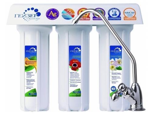 Фильтр для воды Гейзер 3К Люкс (для очистки воды с повышенным содержанием железа), вид 1